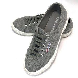 Superga Sneakers Polywool Light Gray 36 6